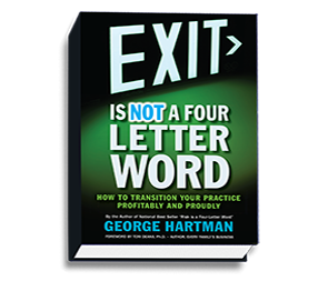 EXIT is NOT a Four Letter Word by George Hartman